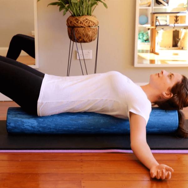 foam roller recover wellbeing currumbin Pilates studio