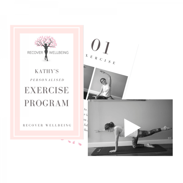 Recover Wellbeing Currumbin Pilates Studio Personalised Exercise Program